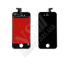 Дисплей APPLE iPhone 4 с черным тачскрином