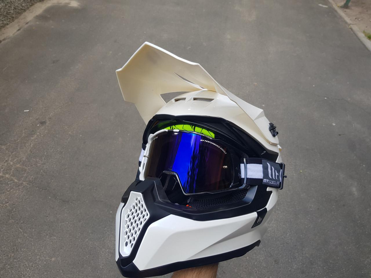 Линза MT Goggles MX-Evo Blue