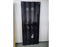 Двери-гармошка ПВХ  2030x820 мм Черное дерево 685