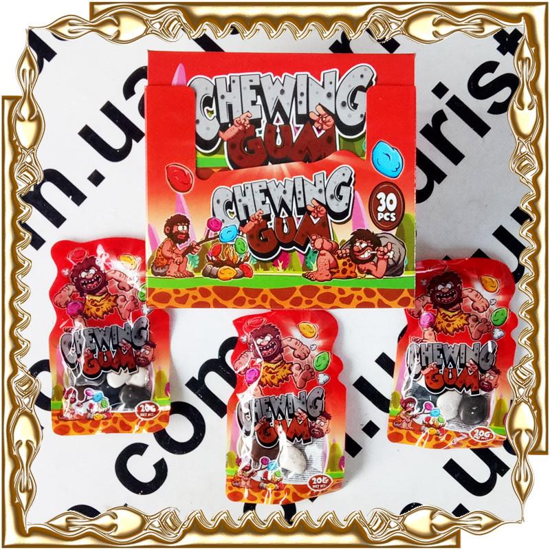 Жевательная резинка Камни Chewing Gum 20 г. 30 шт./уп.