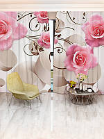 Фотошторы цветы (30956_1_1)