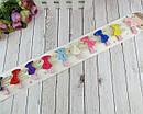 Детские заколки для волос бантики с жемчужными ушками 10 шт/уп., фото 2