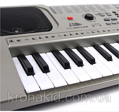 Детский синтезатор / пианино / орган MQ-807 с микрофоном, 54 клавиши, LCD Display, MP3,, фото 3