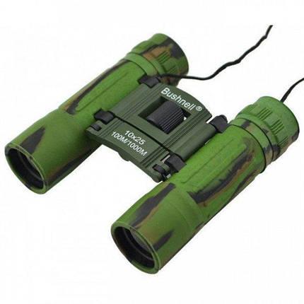 Складной бинокль защитного цвета  Bushnell 4789 (10x25), фото 2