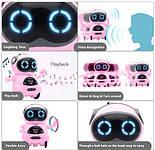 Робот Jiabaile интерактивная игрушка Pocket Robot, english, розовый, фото 2
