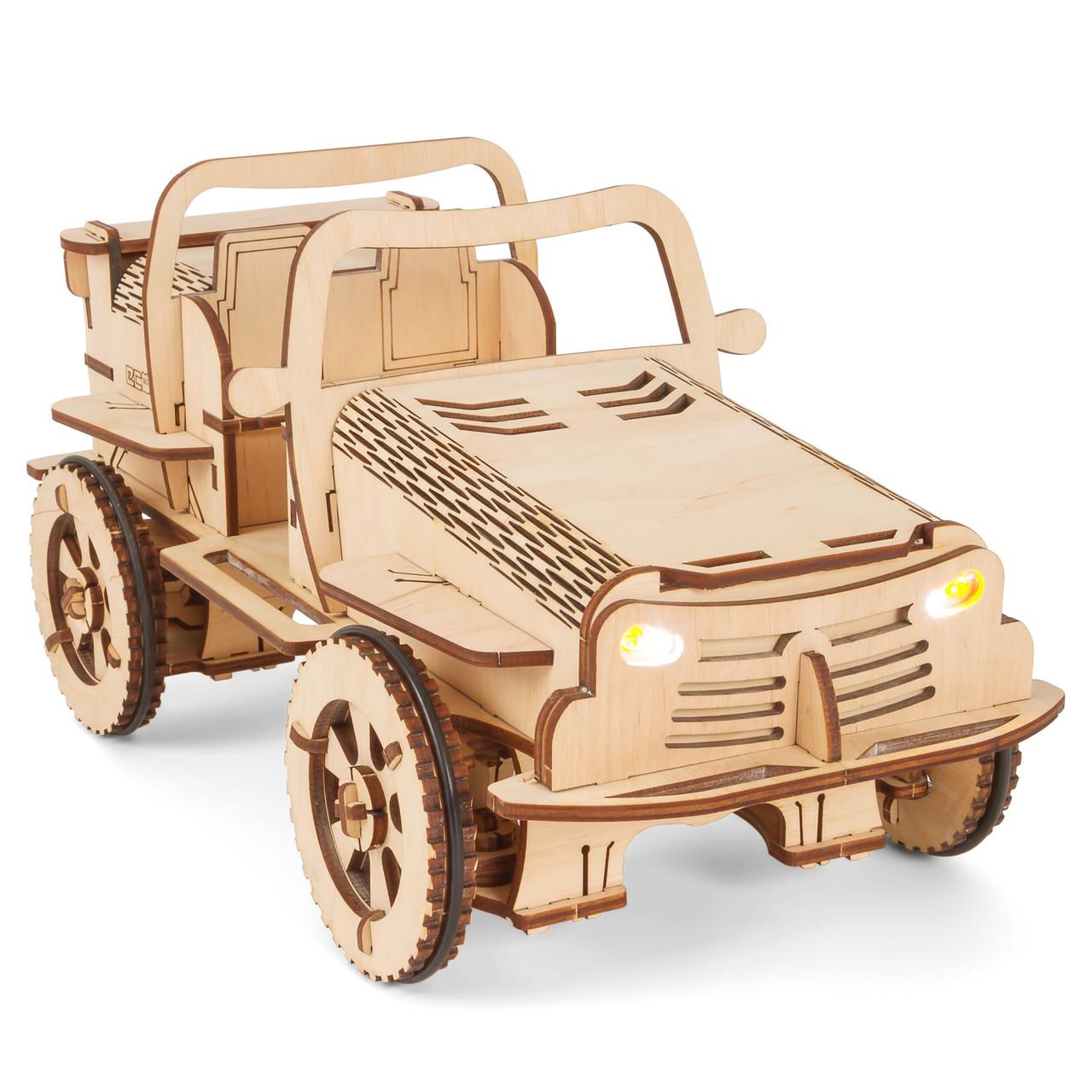 Конструктор Автомобиль-робот EcoBot Buggy управляется с Android
