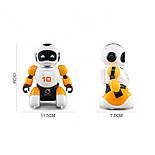 Робот футболист с пультом управления оранжевый, фото 4