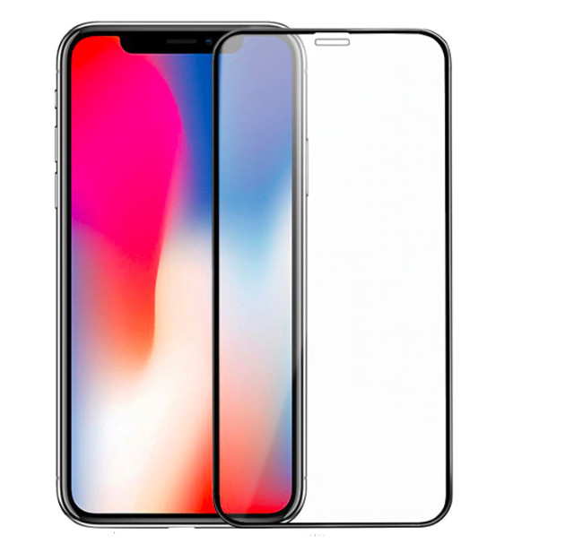 Защитное стекло 10D 9H для iPhone X/XS