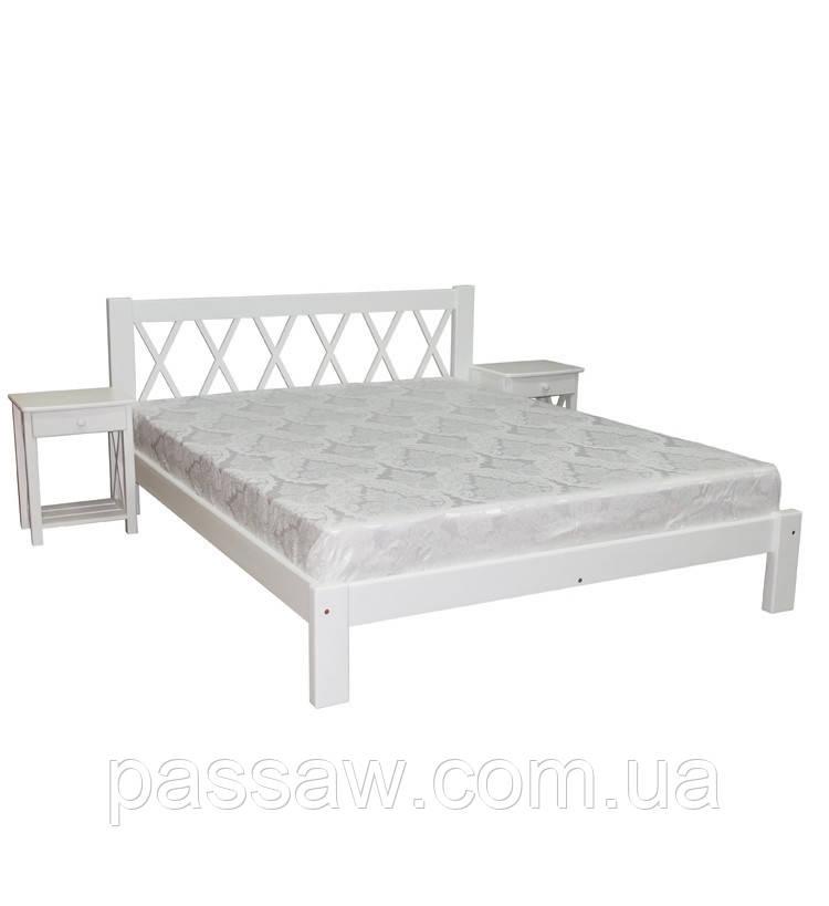 Кровать деревянная Л-236 1,6