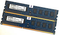 Оперативная память Elpida DDR3 4Gb (2Gb+2Gb) 1333MHz PC3-10600U CL9 1R8 (EBJ20UF8BCF0-DJ-F) Б/У, фото 1