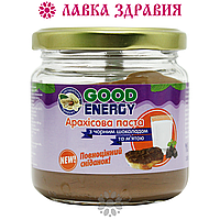Арахисовая паста с чёрным шоколадом и мятой, 180 г, Good Energy, фото 1