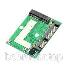 "Переходник для SSD mSATA к разъёму SATA (mSata 1.8"" -> Sata 2.5"")"