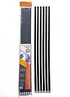 Гибкие ручки для чистки дымоходов 1,4м набор 6 шт