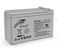 Аккумуляторная батарея AGM RITAR RT1270 Gray Case 12V 7.0Ah