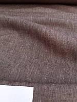 Льняная костюмная меланжевая ткань, фото 1