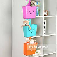 Корзинка для хранения подвесная пластик ТМ Cubby Ма2, фото 1