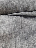 Льняная сорочечная меланжевая ткань, фото 1