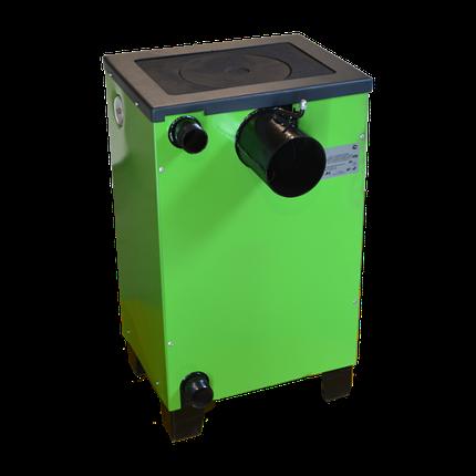 Котел твердопаливний Вогник Котв - 10 п кВт з варильною плитою, фото 2
