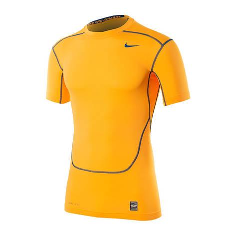 Короткий рукав TEAM-каталог Термобелье Nike CORE COMPRESSION SS TOP 449792-831(02-08-06-02) S, фото 2