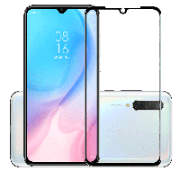Защитное стекло с рамкой для Xiaomi Mi A3