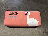 Пенал Nice Flamingo Оранжевый