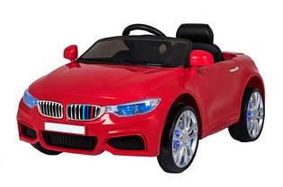 Эл-мобиль T-7619 RED легковая EVA колеса на р.у. 2*6V4AH мотор 2*25W 116*64*51 /1/