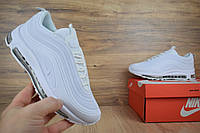 Nike Air Max 97 белые найк кроссовки женские кросовки летние кеды