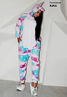 Кигуруми новый звездный единорог пижама ktv0110