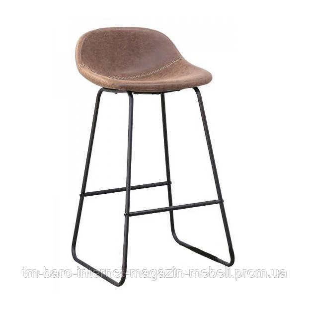 Барный стул Бостон, темно-коричневый