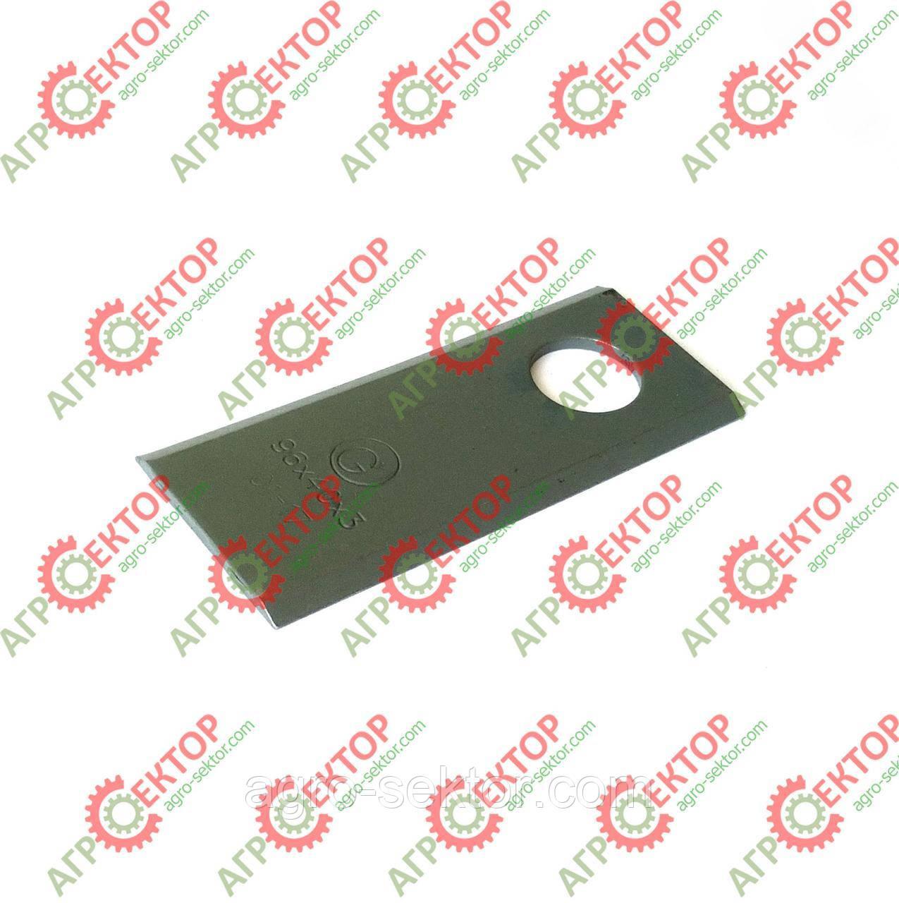Ніж Radura RASSPE роторної косарки Wirax Z-069, Z-169 503601045