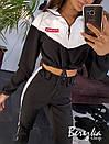 Женский костюм с укороченным бомбером и брюками джоггерами 66ks1408Е, фото 4