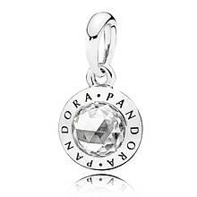 Діамантовий кулон Логомания