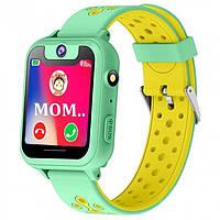 Детские смарт-часы с GPS 6 green