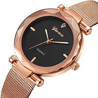 Женские часы Geneva GUCCI gold 2