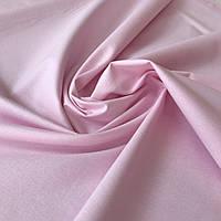 Бязь однотонная бело-розовая, ширина 160 см, фото 1
