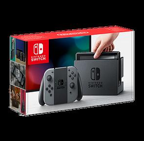 Nintendo Switch Red-Blue\Grey+Micro SD 256GB (прошита, 34 кращих ігор в комплекті)