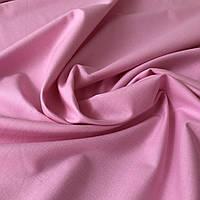 Бязь однотонная розовая, ширина 160 см
