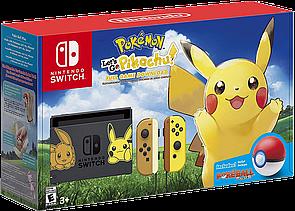 Nintendo Switch Pikachu & Eevee Limited Edition+Pokeball Plus + ігра Pokemon: Let's Go Pikachu
