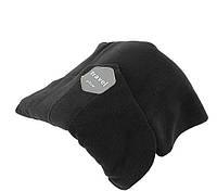Подушка-шарф для путешествий Travel Pillow черный (HT801)