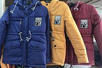 Демисезонные куртки для мальчиков осень-весна