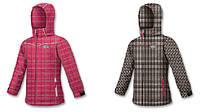 Зимняя цветная куртка для девочек BRUGI