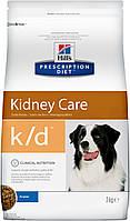 Hill's Prescription Diet K/D Kidney Care корм для собак з нирковою та серцевою недостатністю, 2 кг, фото 1