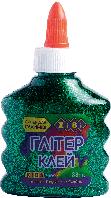 Клей ГЛИТТЕР (для слаймов) зеленый на PVA-основе, прозрачный, 88мл. ZiBi