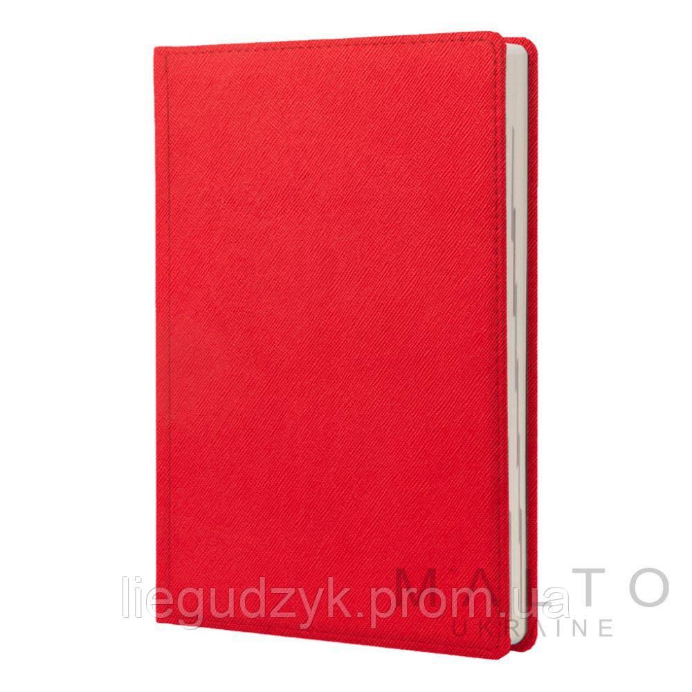Щоденник А5 не датований SILK RED