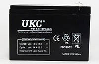 Аккумуляторная Батарея UKC 12 V 9 A, фото 1