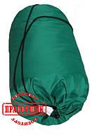 Летний спальный мешок зеленый