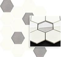UNIVERSAL BIANCO MIX 22x25,5 декор под мозаику соты