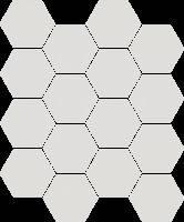 UNIVERSAL GRYS 22x25,5 декор под мозаику соты