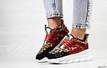 Женские кроссовки Versace (леопардовые), фото 3