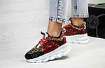 Женские кроссовки Versace (леопардовые), фото 2
